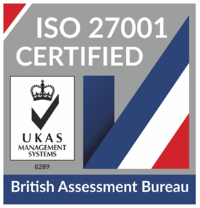 badge of ISO 27001 certification