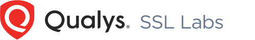 badge of Qualys SSL Labs cerification
